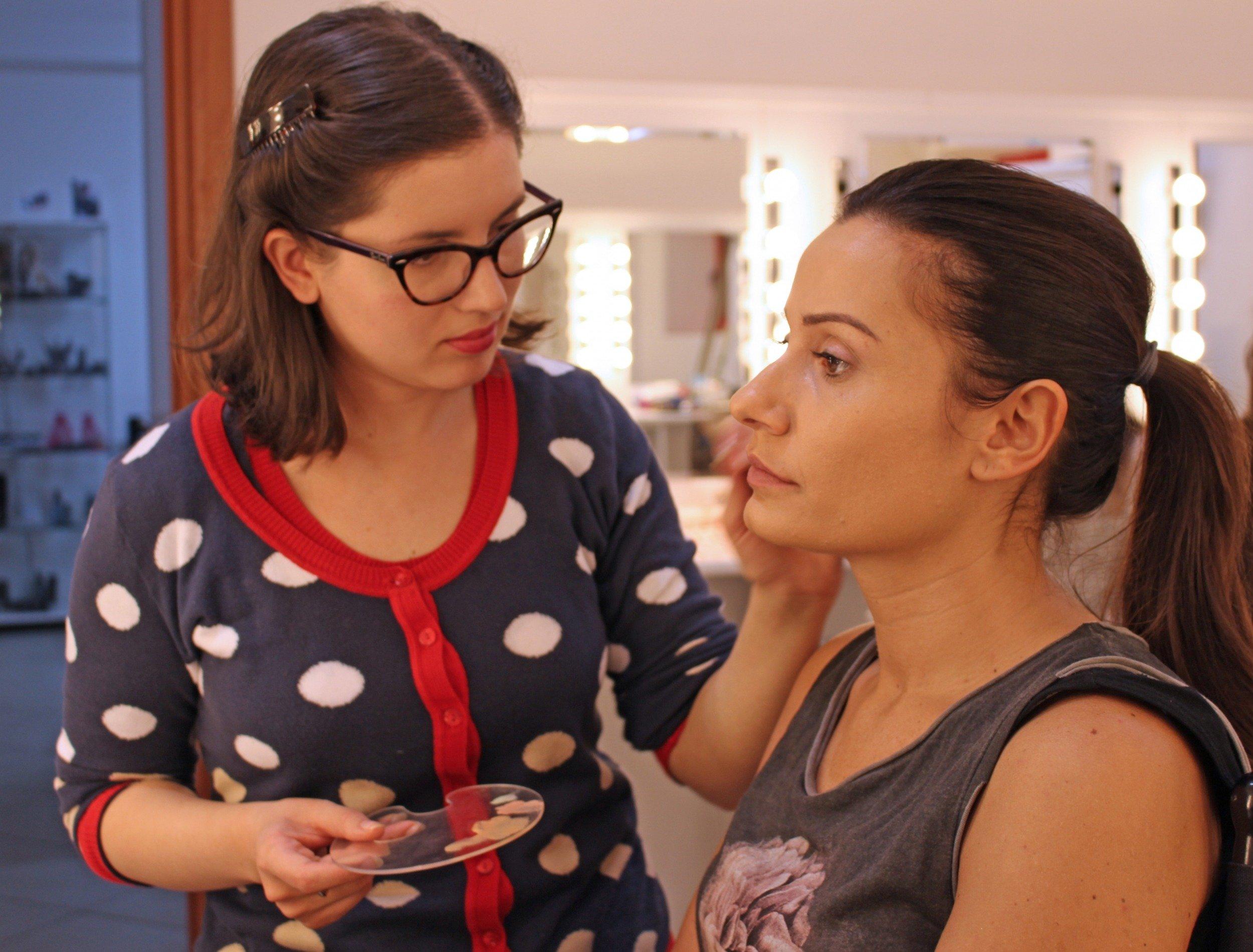 Il lavoro di Make-up Artist