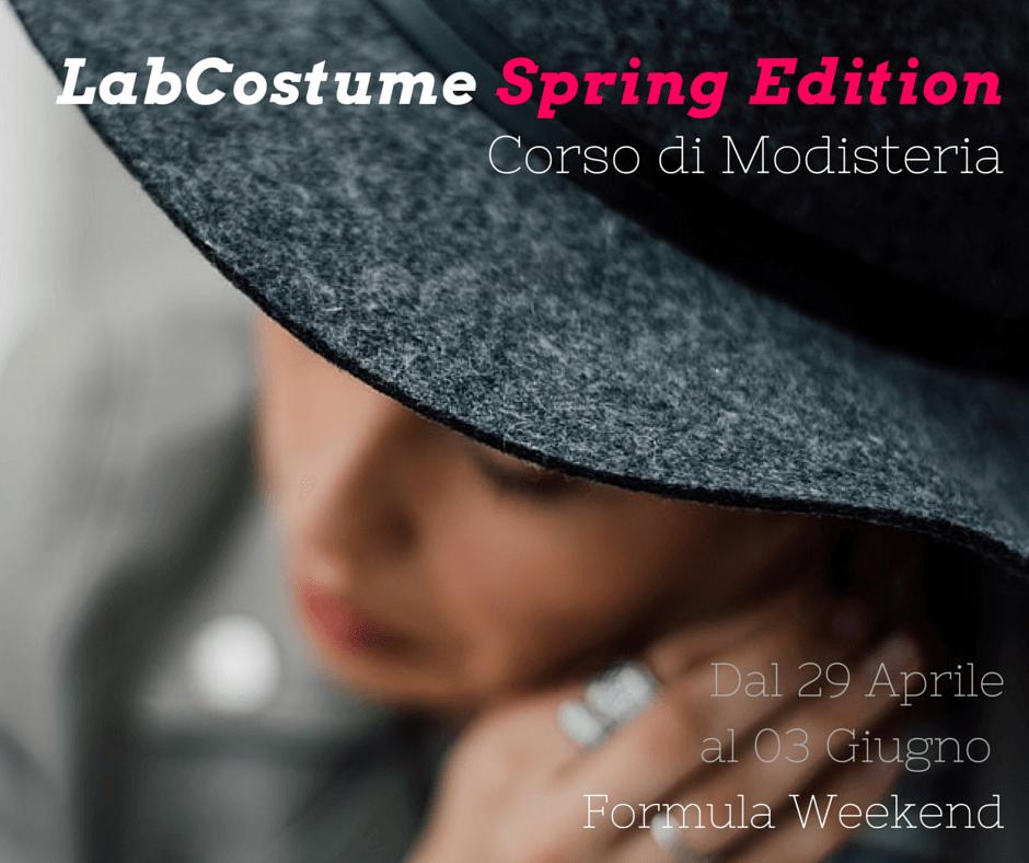 LabCostume Spring Edition - Modisteria