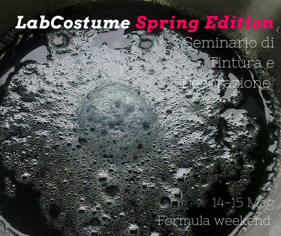 LabCostume Spring Edition - Tintura
